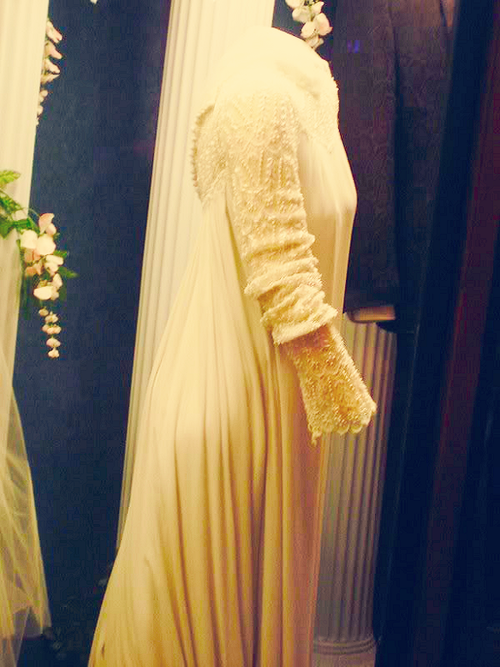 Priscillas Wedding Gown On Display At Graceland Elvis Presley