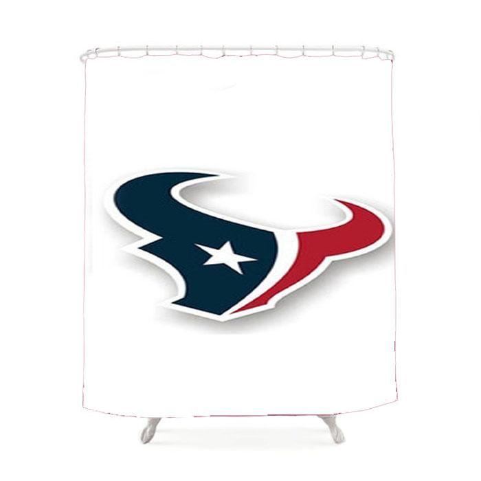 Huston Texans Logo Shower Curtain Texans logo, Texans