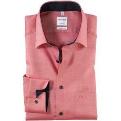 Olymp Tendenz Hemd, modern fit, New Kent, Rot, 39 Olymp