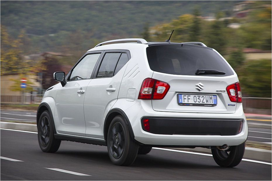 Pin Na Doske Micro Suv Suzuki Ignis In The Test