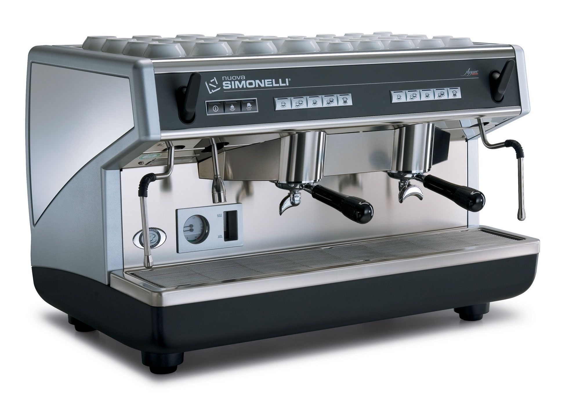 2 groups commercial coffee machine APPIA Nuova
