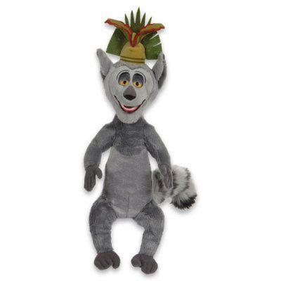 Julien King Monkey Stuffed Plush Toy 30 cm peluche madagascar