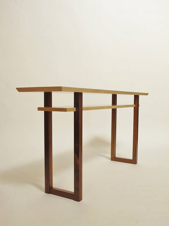Best Contemporary Long Low Console Table Narrow Sofa Table 400 x 300