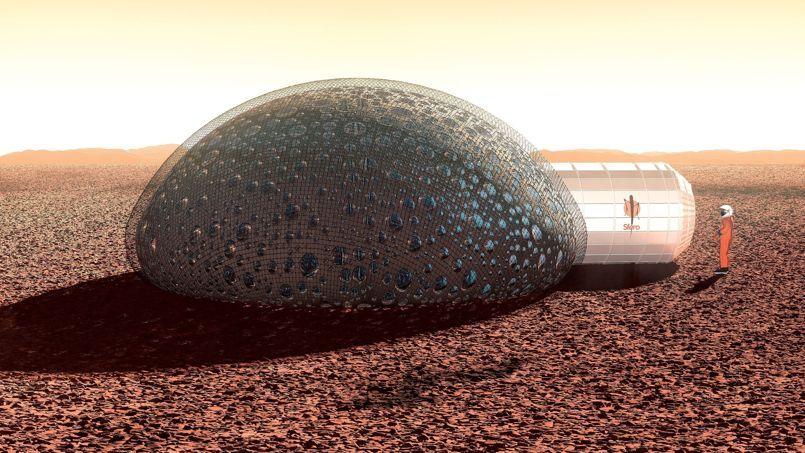 Ils imaginent une maison pour habiter sur Mars
