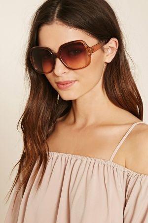 Óculos de Sol - Forever 21 Oversized Square Sunglasses
