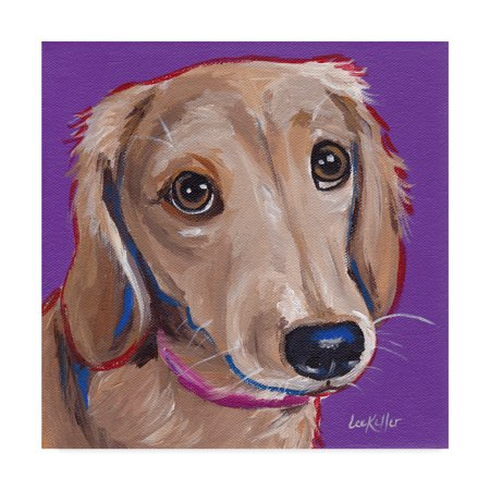 Home Dachshund Art Dog Canvas Painting Dog Art