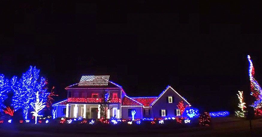 over 13 million american troops have made the ultimate sacrifice since 1775 this home in christmas light