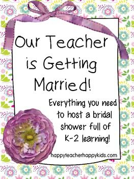 An Educational Bridal Shower Free