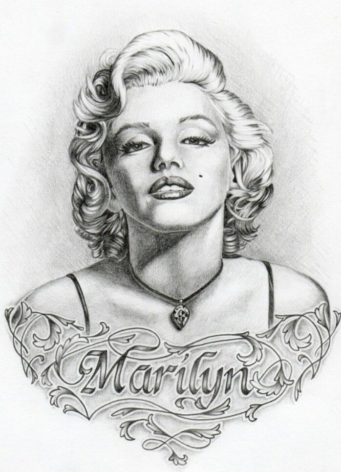 marilyn monroe art tattoos pinterest hertha steine bemalen und zeichen. Black Bedroom Furniture Sets. Home Design Ideas