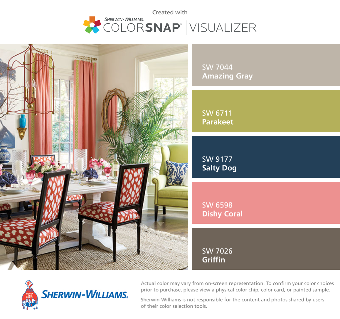Ombre technique supplies and tips from sherwin williams - I Found These Colors With Colorsnap Visualizer For Iphone By Sherwin Williams Amazing