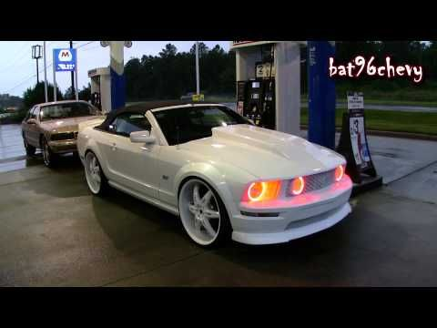 Express Yourself Pearl White 2007 Ford Mustang Gt On 24 S Red