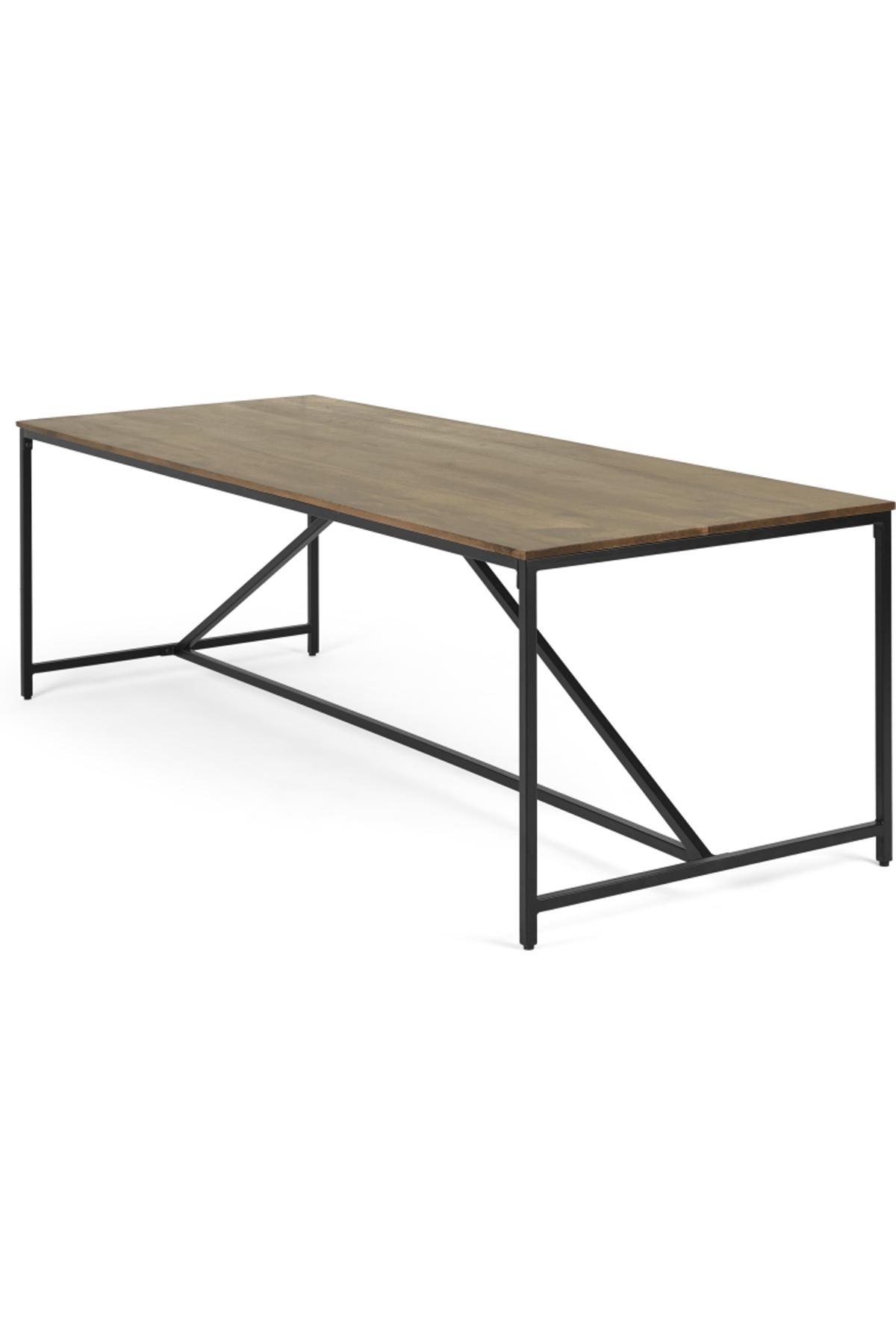 Lomond 10 Seat Extra Large Dining Table Mango Wood Dining Table
