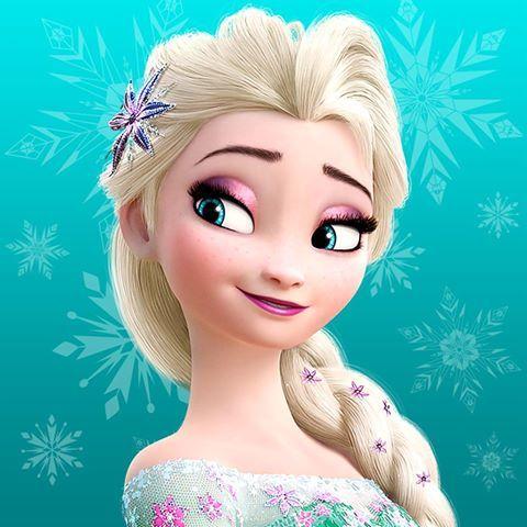New Elsa On Facebook Profile Photo Elsa Photos Frozen Disney Movie Disney Princess Wallpaper