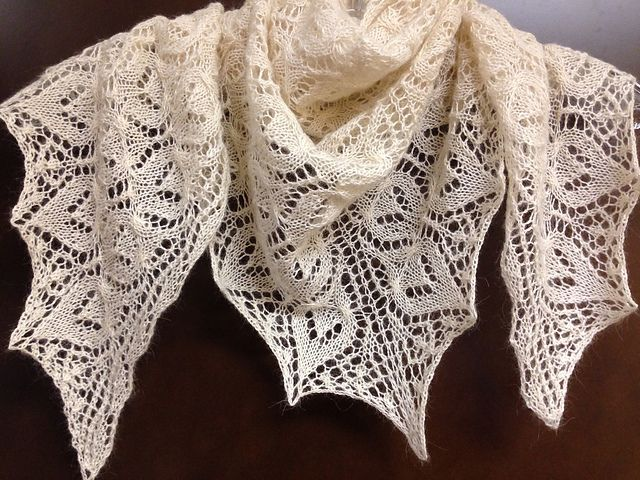 Espressoknitting39s Rowan Lace Shawl Knitting Pinterest