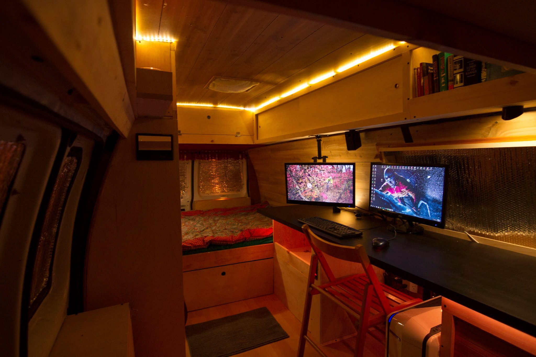 How I Turned An Old NYPD Surveillance Van Into A Home