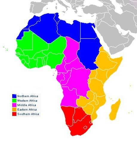 Maps of Africa | Future Architecture | Africa map, Africa, Map