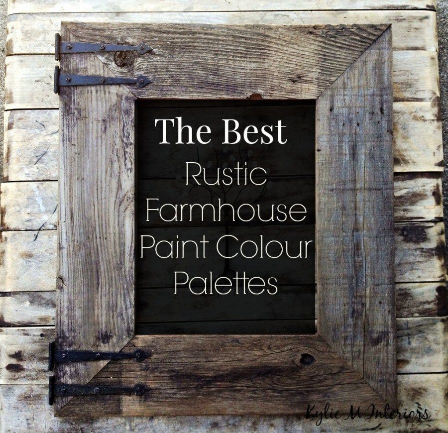 Rustic Paint Colors the best rustic farmhouse paint colours – benjamin moore
