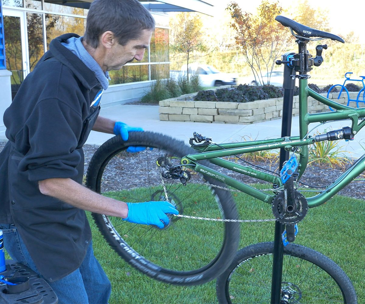 Bike Washing And Cleaning Park Tool Bike Cleaning