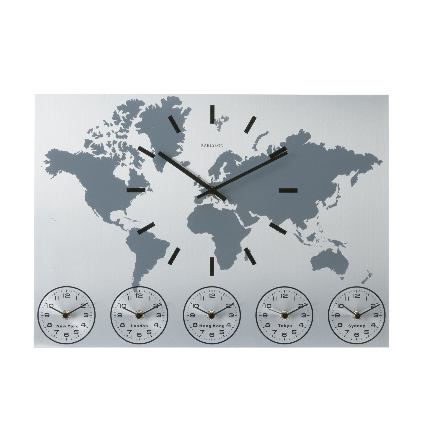 get a world clock for your home fun u0026 fashionable home