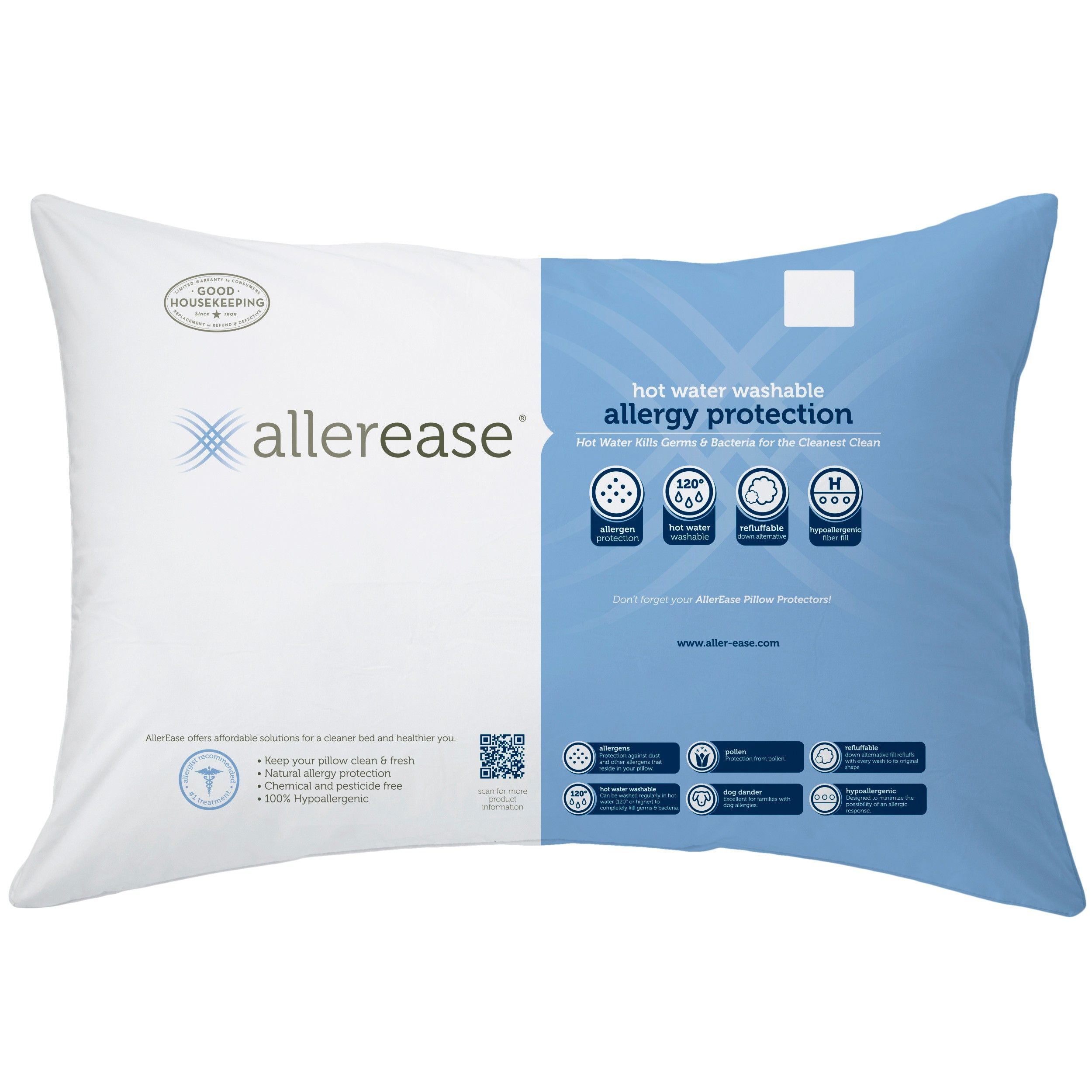 Allergy proof fabric prevents dust mites, allergens, pet dander and ...