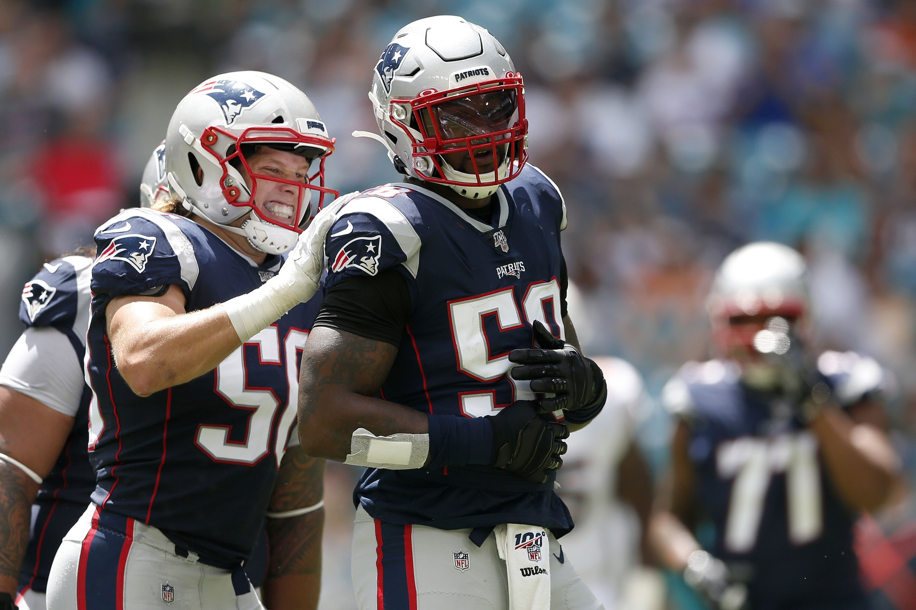 New England Patriots Vs Miami Dolphins What Are The Injuries National Football League News The New E Patriots Defense Patriots New England Patriots Defense