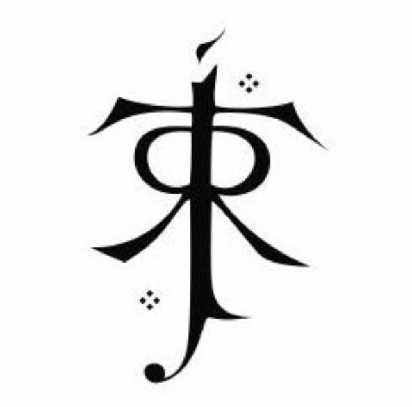 I Love The Idea Of The Symbol Of Jrr Tolkiens Initials As A Tattoo