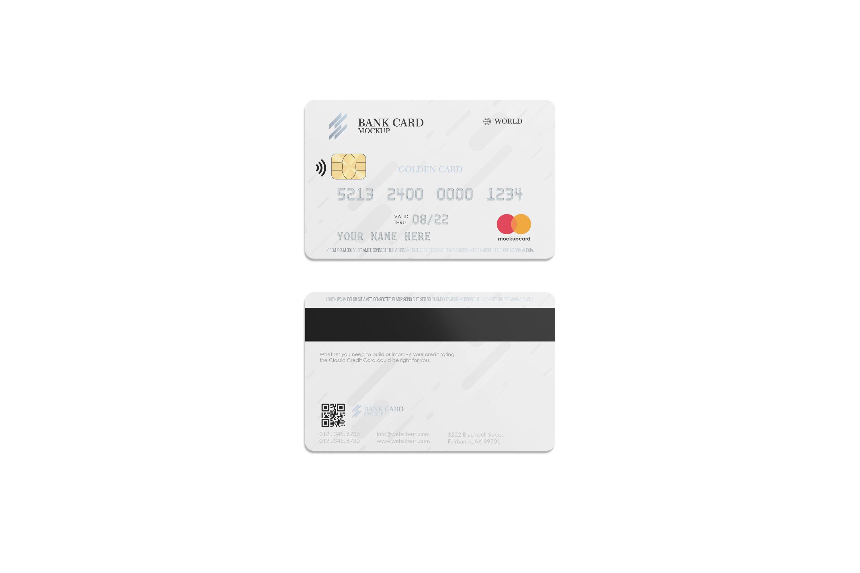 Download Plastic Card Mockup In 2020 Plastic Card Discount Card Card Design PSD Mockup Templates