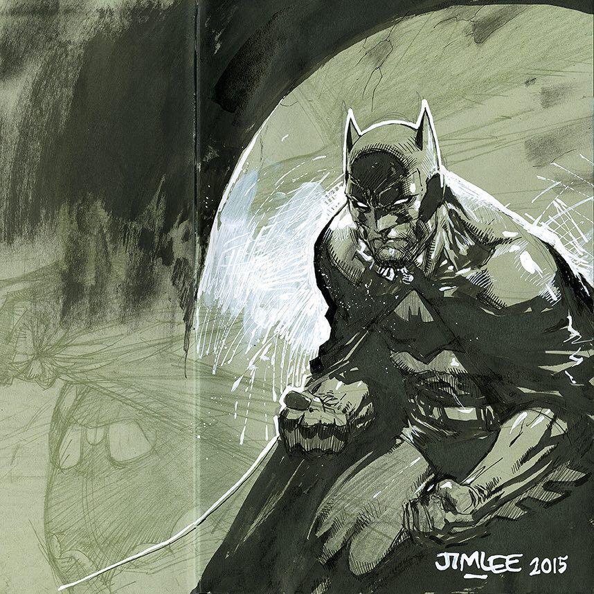 Jim Lee Variations On A Bat Pinterest Jim Lee Batman And