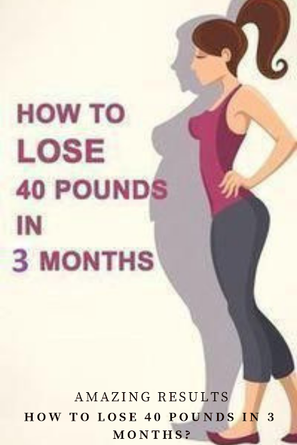 tips to lose weight in 3 months