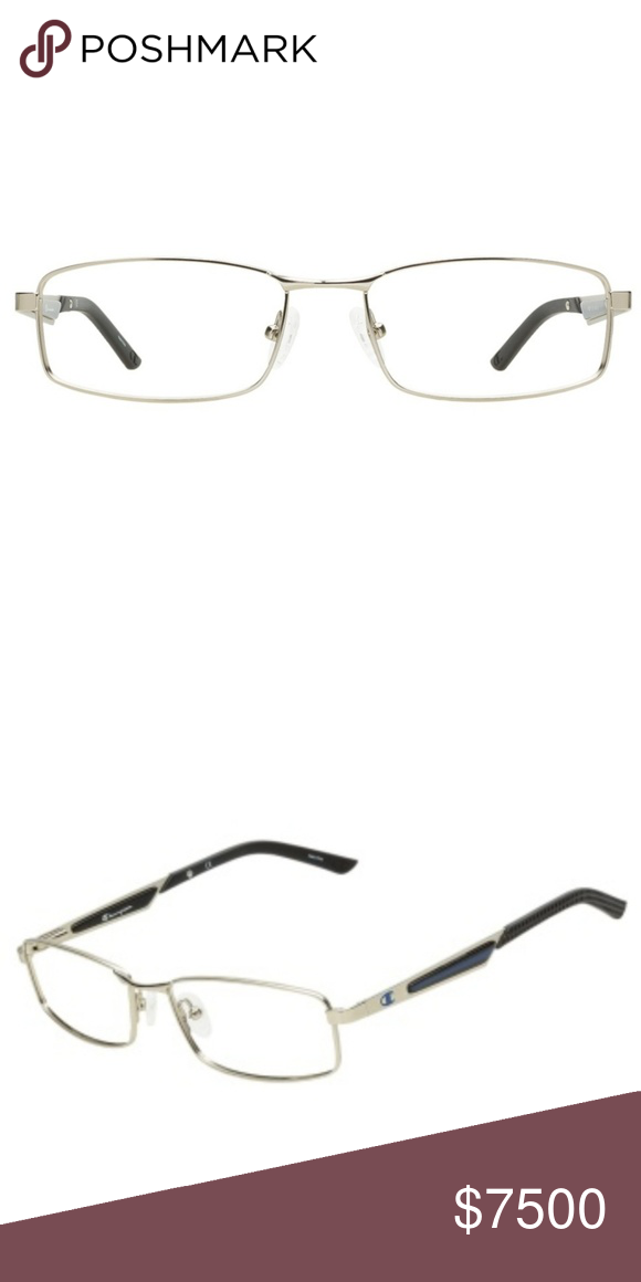 38031769c1 CHAMPION Eyeglass Frames Champion CU2004 C01 Matte Silver Eyeglasses This  Champion product is by Champion -