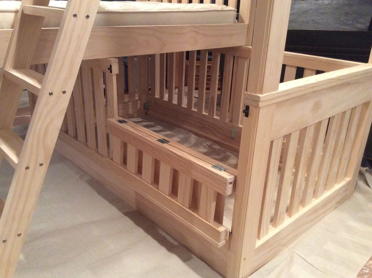 Triple bunk beds with crib Ana White Bunk beds, Triple