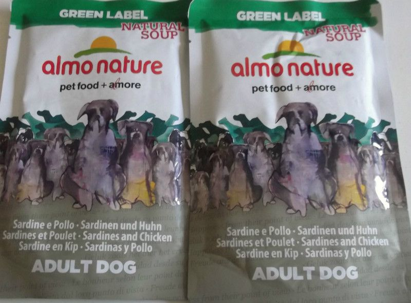 2 X 140g Almo Nature Green Label Natural Soup Dogs Chicken And Sardines Listing In The Other Food Dogs Pets Home Garden Cate Sardines Food Animals Pet Corner