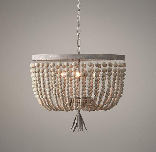Diy Beaded Light Fixture Contributor Post Beaded Light