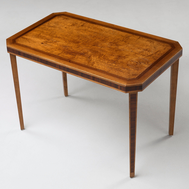 527 A Carl Malmsten Rosendal table Nordiska Kompaniet ca 1930