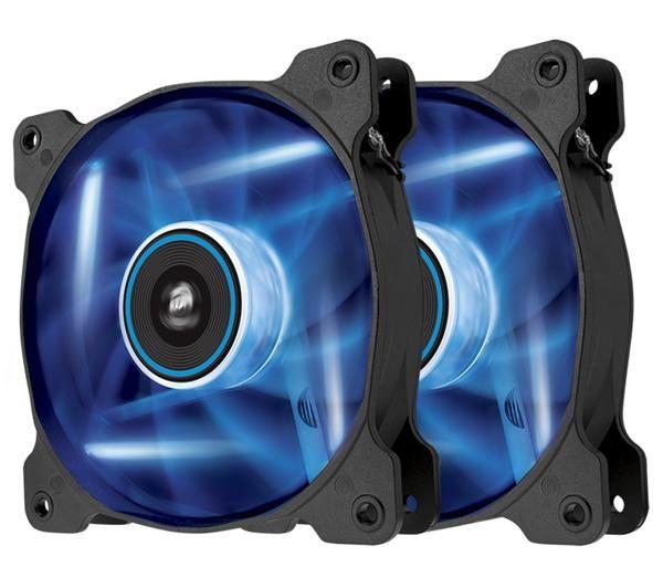 Corsair Air Series Led Af120 Quiet Edition 120 Mm Blau Lüfter 2er Pack Twin Pack Cool Bluetooth Speakers Airflow