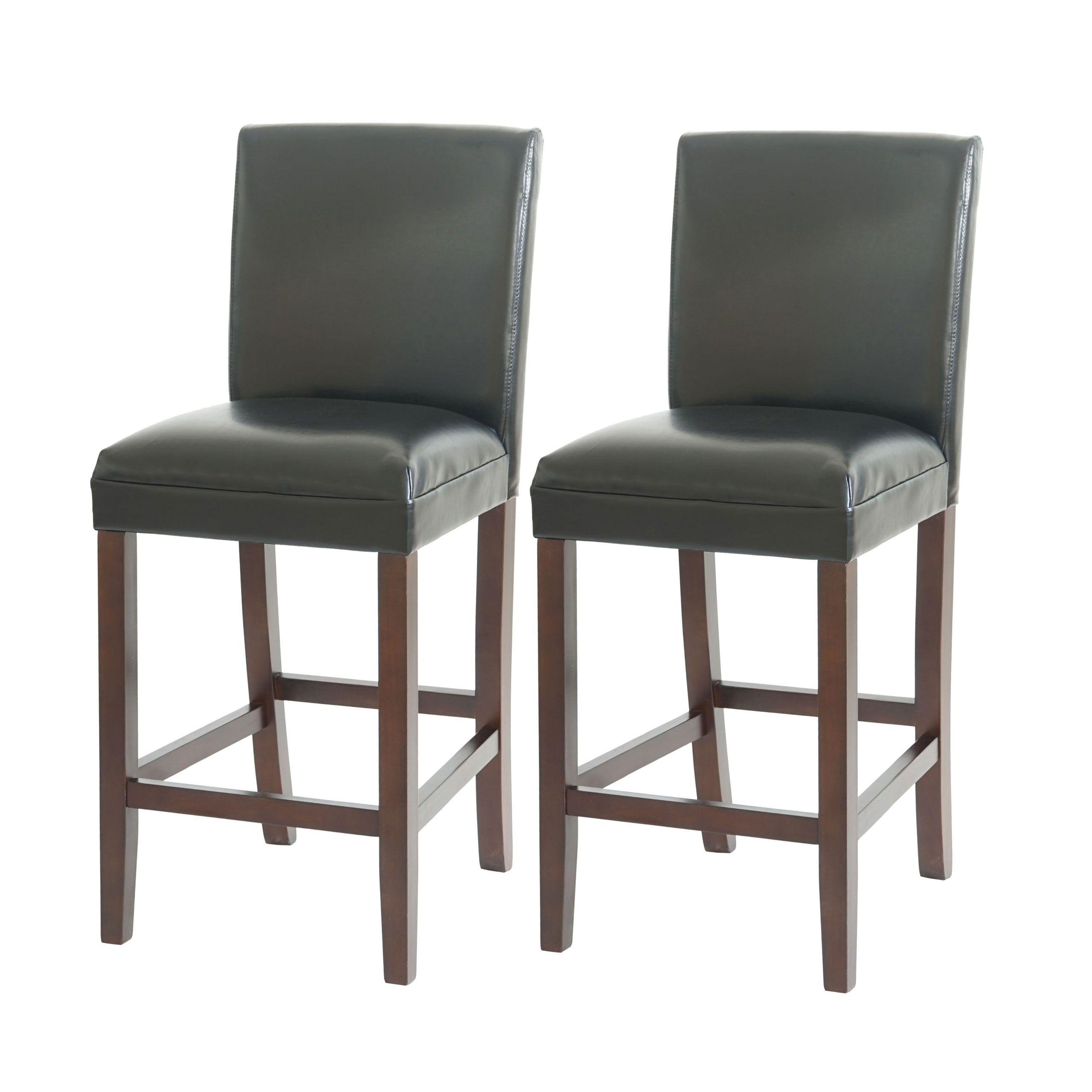 2x Barstuhl Xxl Barhocker Austin Leder Us Version 150kg Home Decor Furniture Bar Stools