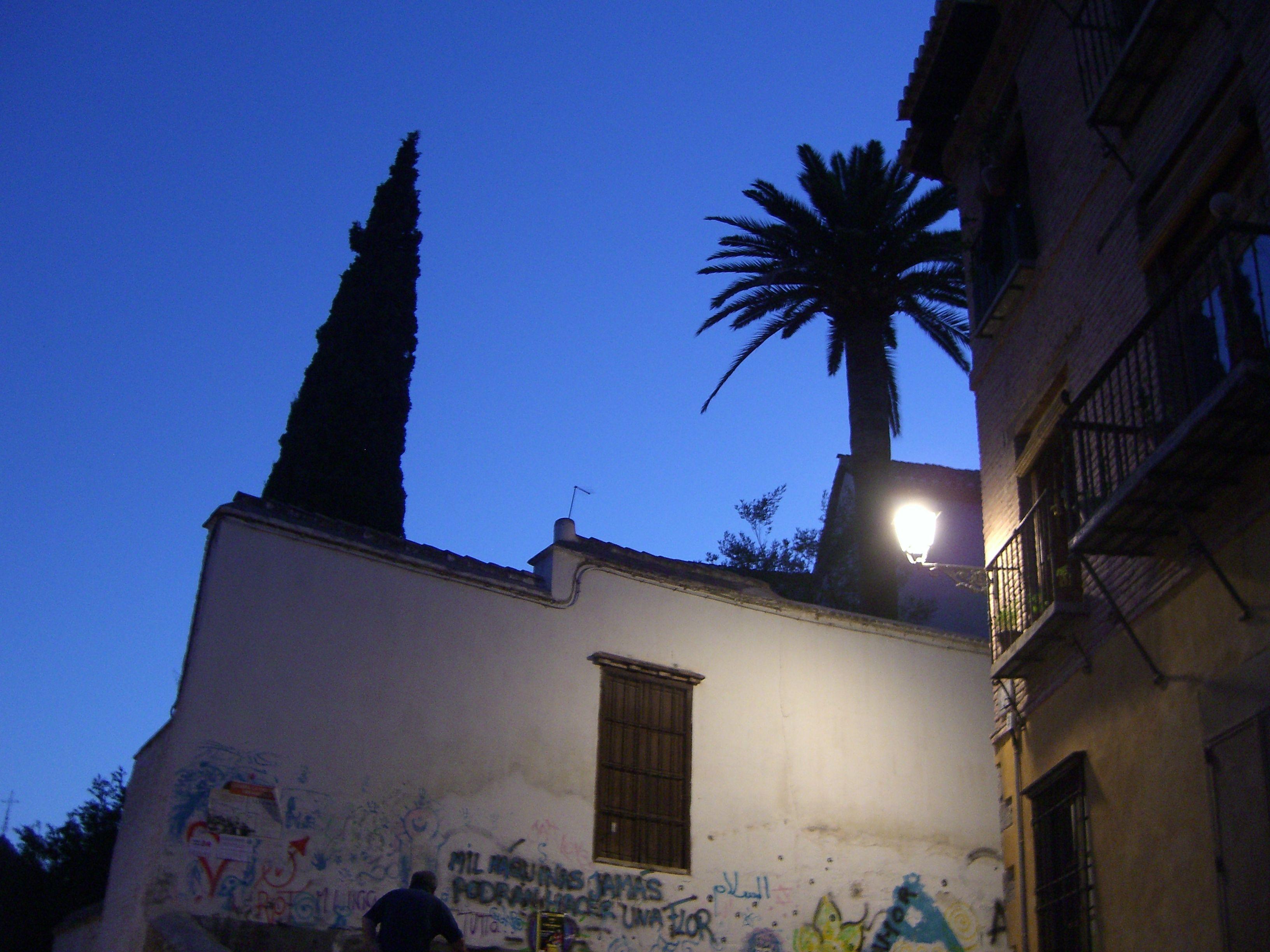 Evening in Albaicin, Granada