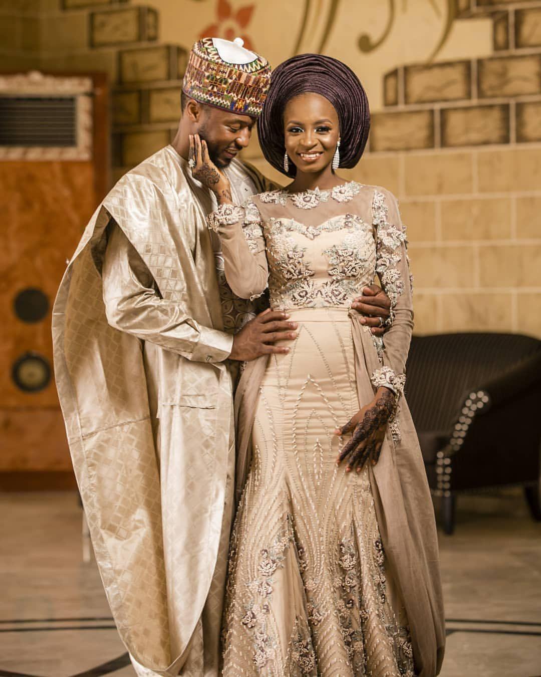 Pin By Joypat On African Couture Dress African Wedding Attire Traditional Wedding Attire Nigerian Wedding Dress