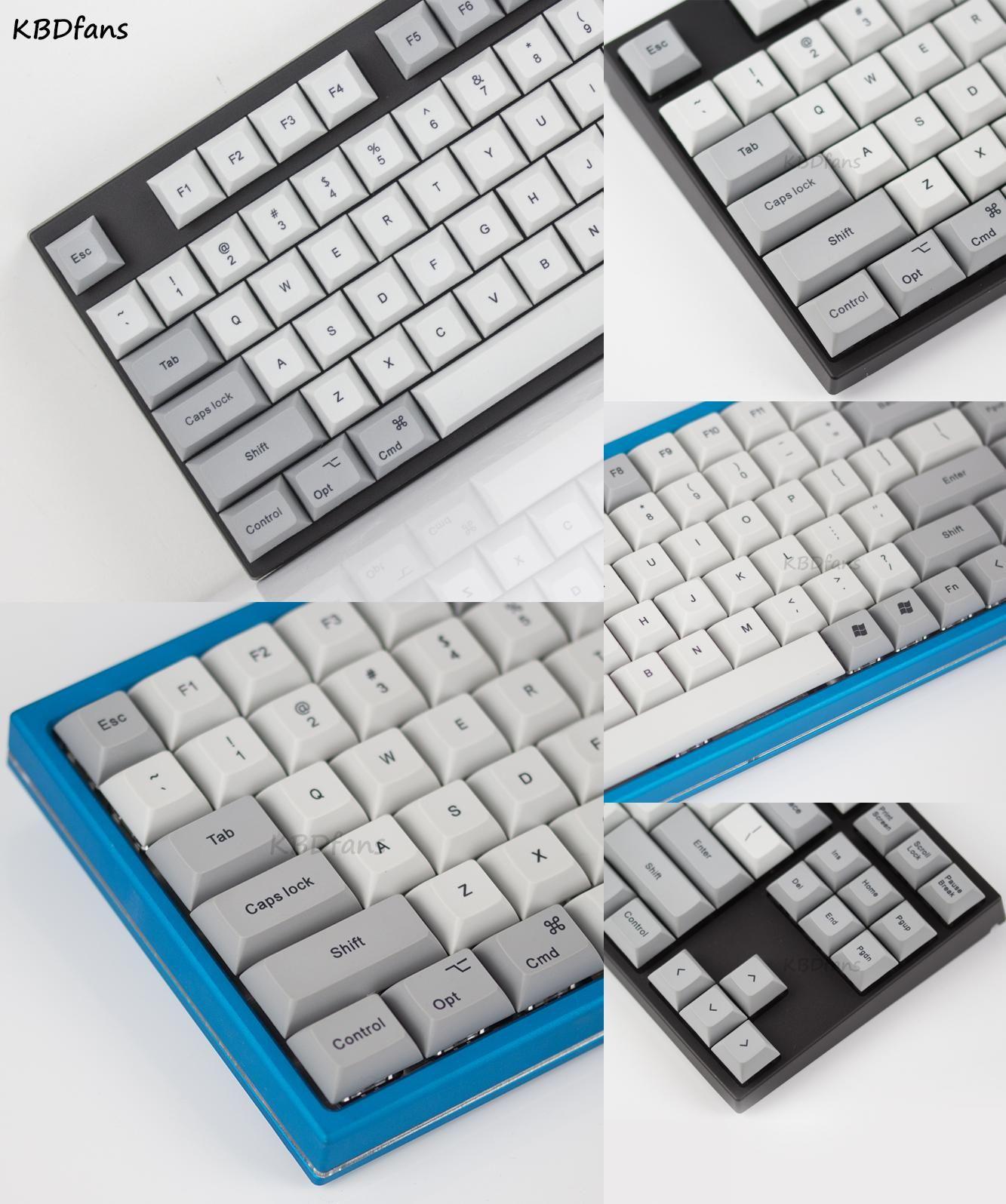 Visit to Buy] KBDFANS DSA keycaps Dye sublimated Retro color