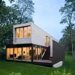Architectural Theater House - Noyack Creek by Bases Masi Architects
