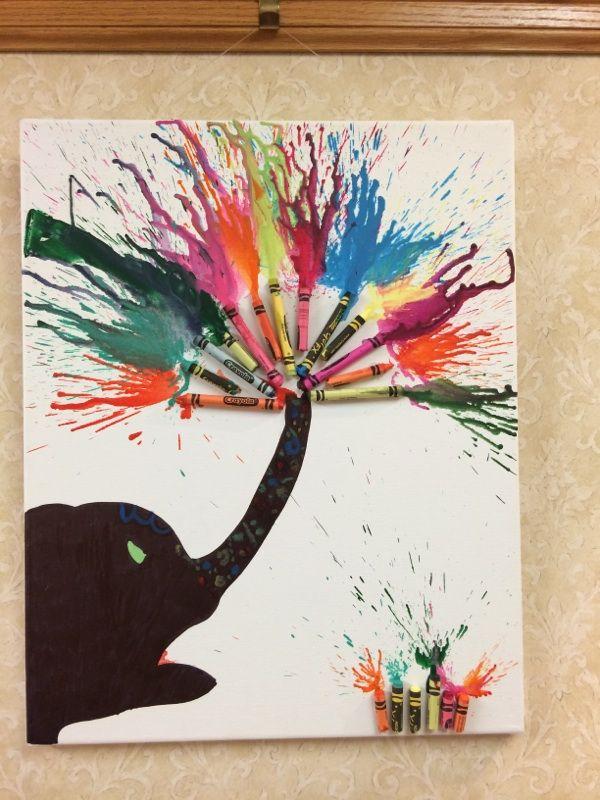 Melting Pot: Clark-Lindsey's Crayon Art Series
