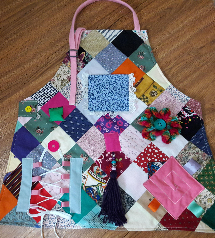 Allthatcraftyjazz Sew Many CraftsSew Little Time Fidget Apron