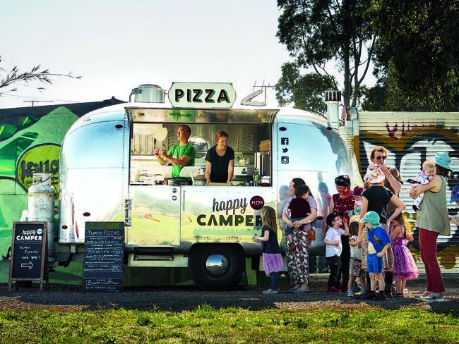 Happy Camper #Retro #Foodtrucks