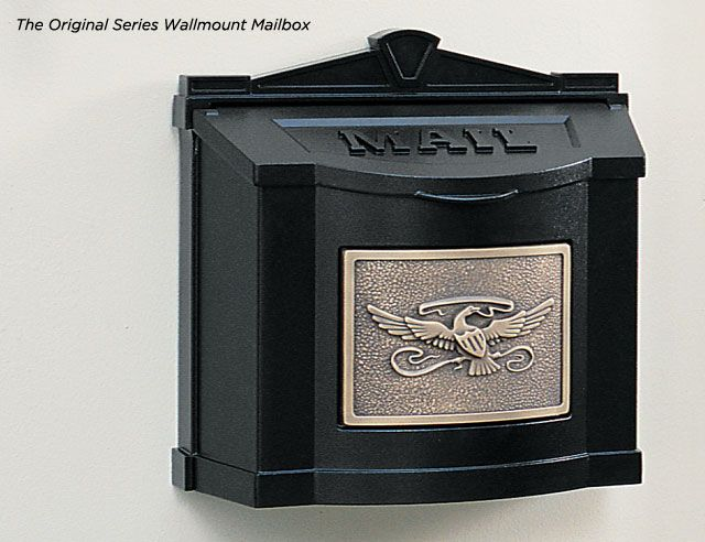 Gaines Manufacturing Eagle Series Wallmount Mailboxes