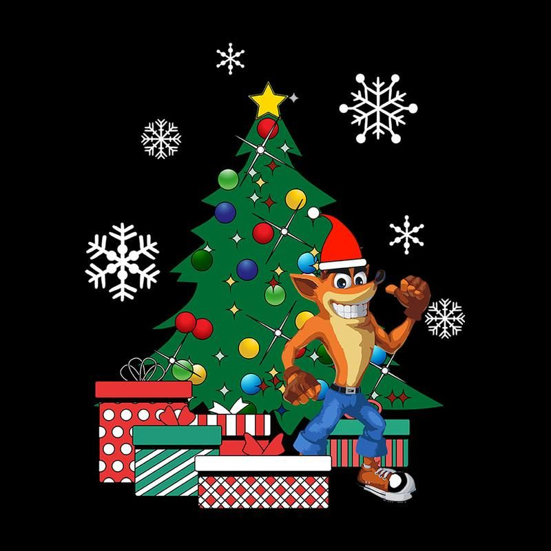 Crash Bandicoot Christmas.Crash Bandicoot Around The Christmas Tree Cloud City 7