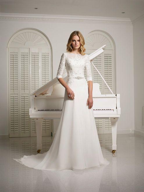 Veni Infantino Bridal   Sarah Jane Collection - Vanna   Modest ...