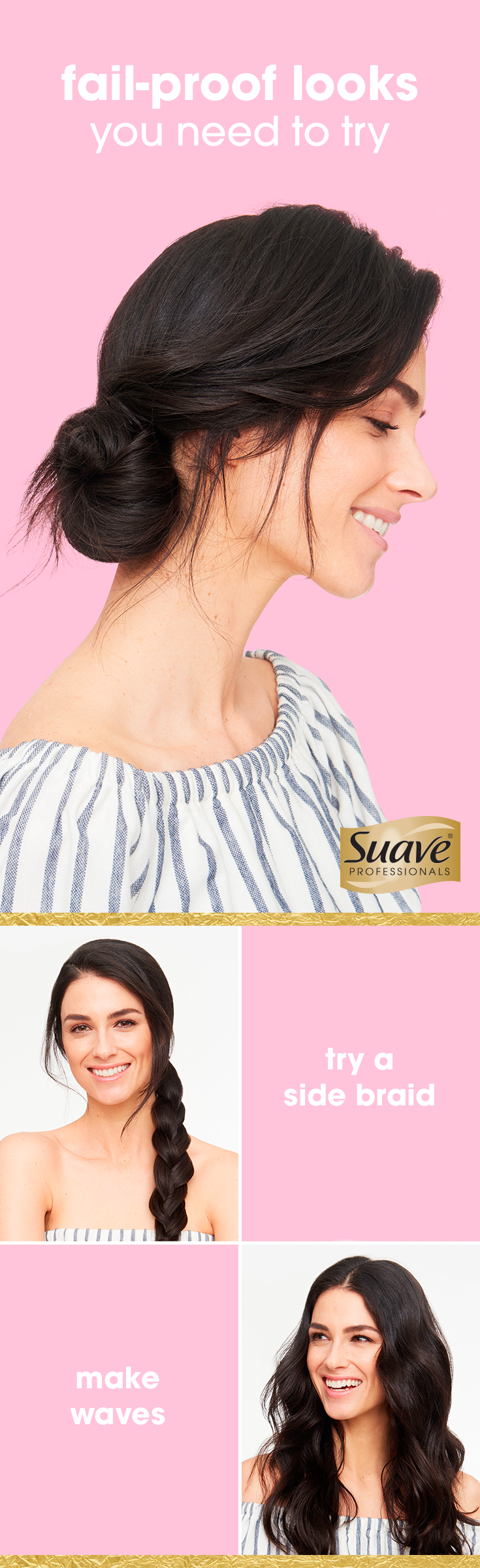 5 Gorgeous Hairstyles For When Youre Out of Ideas