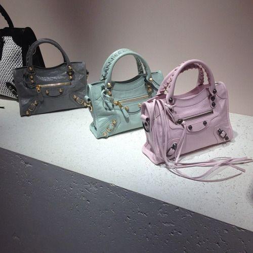 balenciaga classic city bag colors