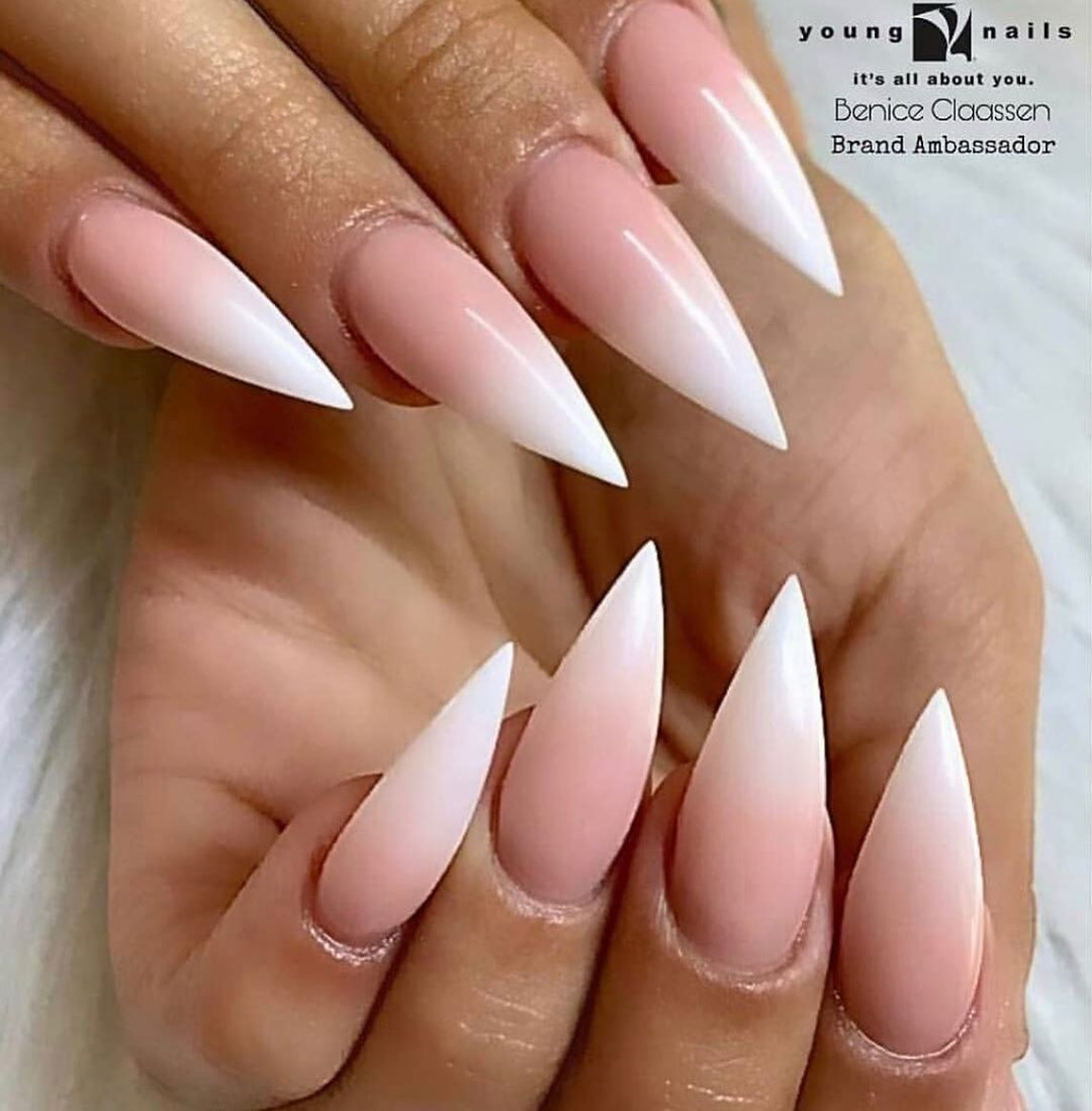 Ombre Young Nails Young Nails Nails Pink