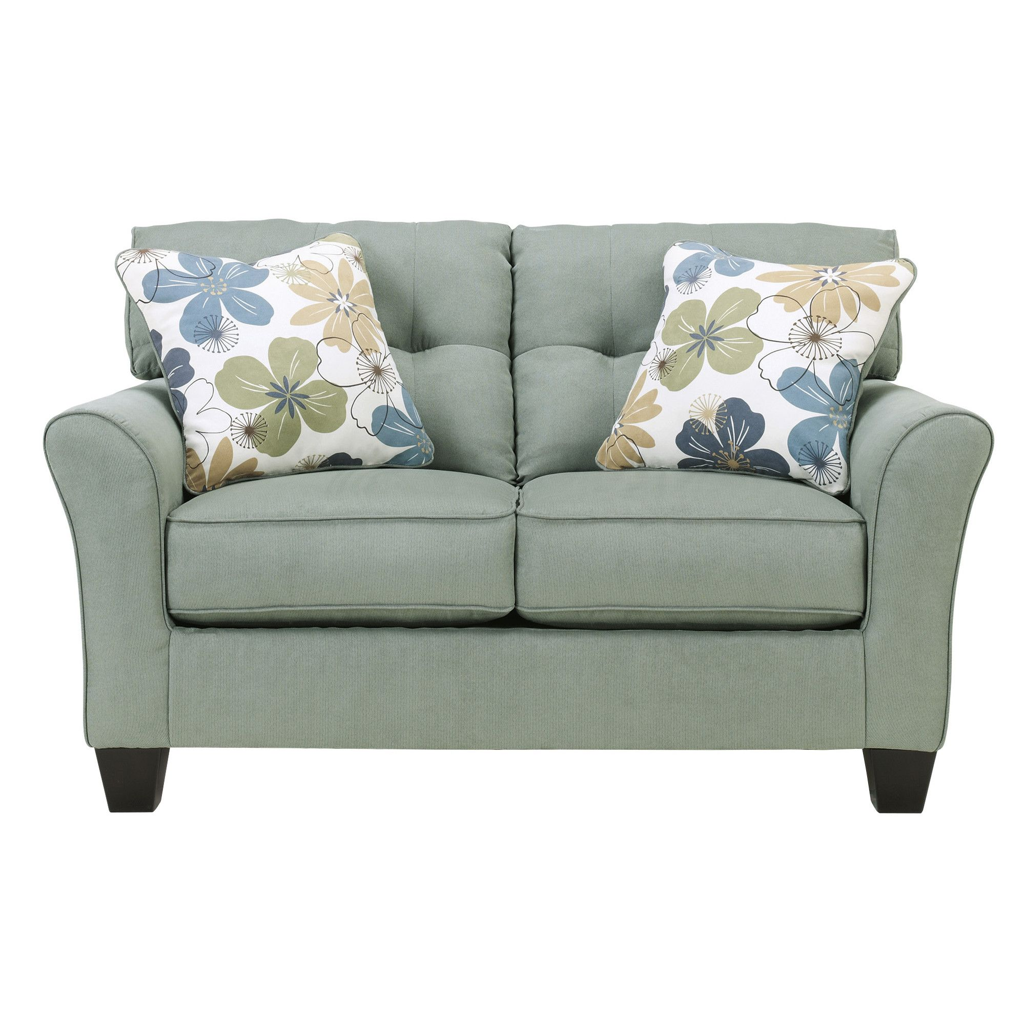 Signature design by ashley sanford loveseat u reviews wayfair